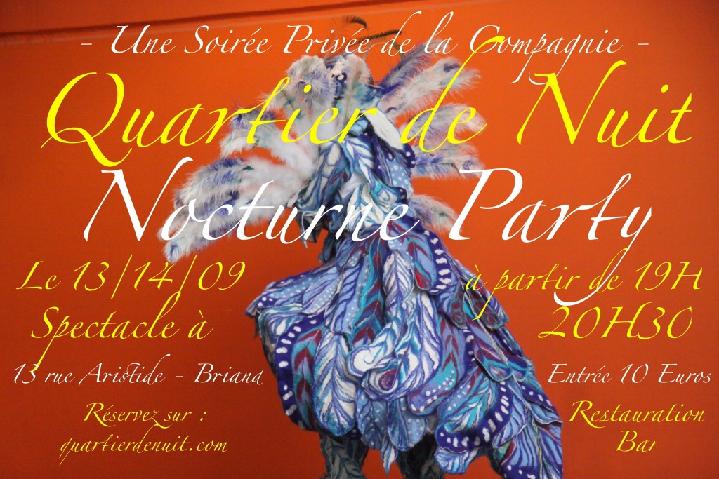 Invitation Nocturne Party 1 RÉSERVATIONS